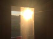 Sun beating down on the 49th. jpg